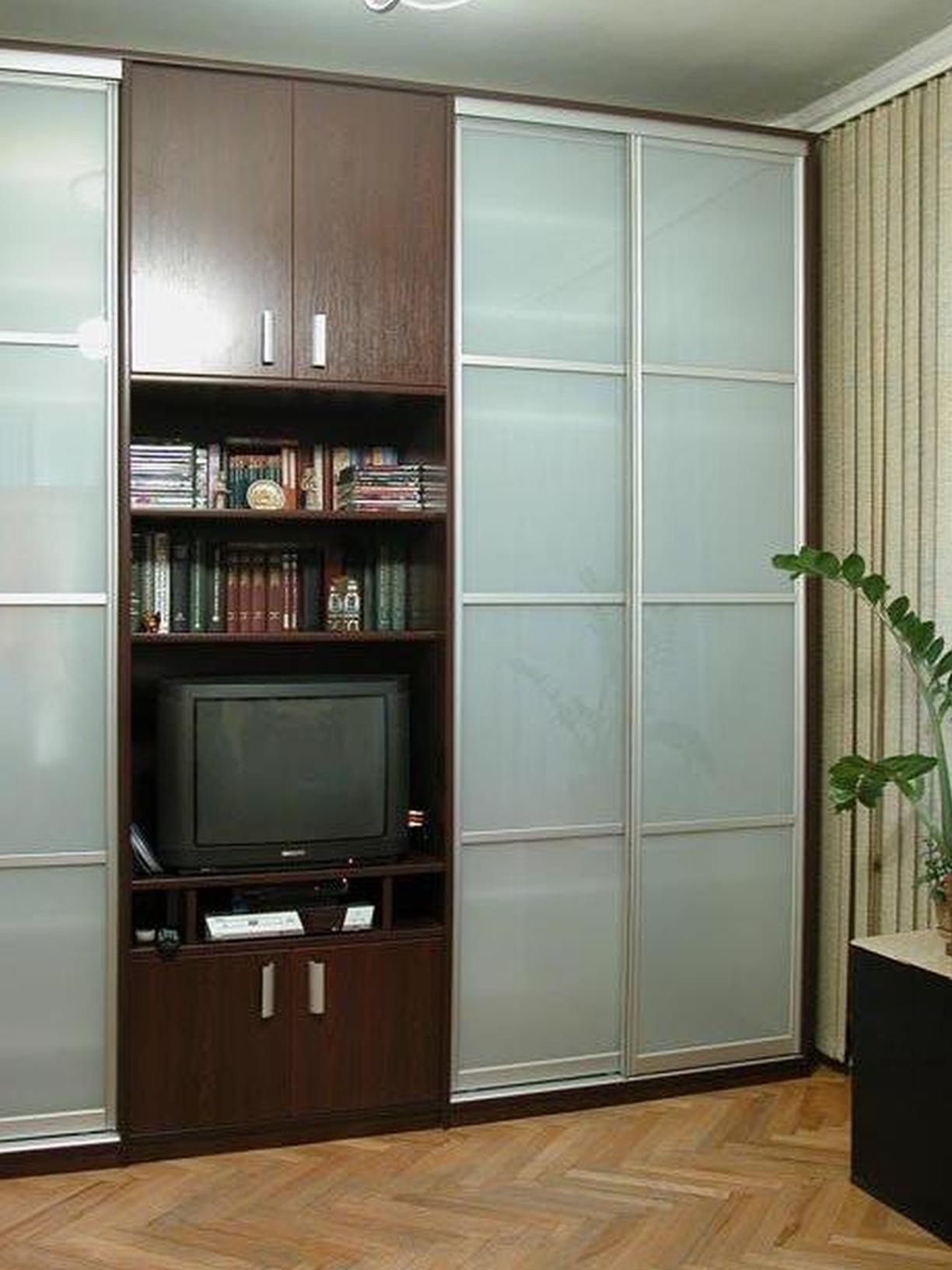 Шкаф купе в гостиную - 100 фото идей оригинального дизайна.